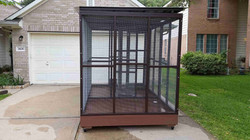 Parrot Aviary - Dual Cage (9)