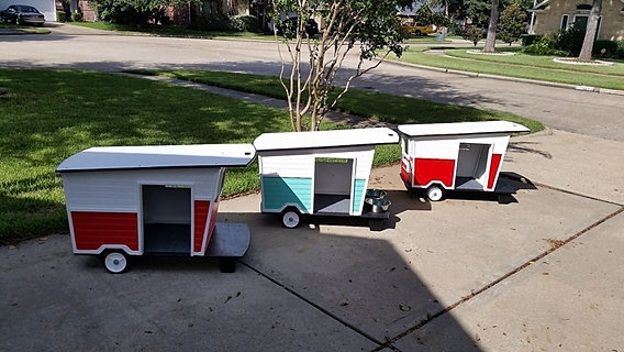 Trailer Dog House all critters great and small, pet sitting, animal cages, pet