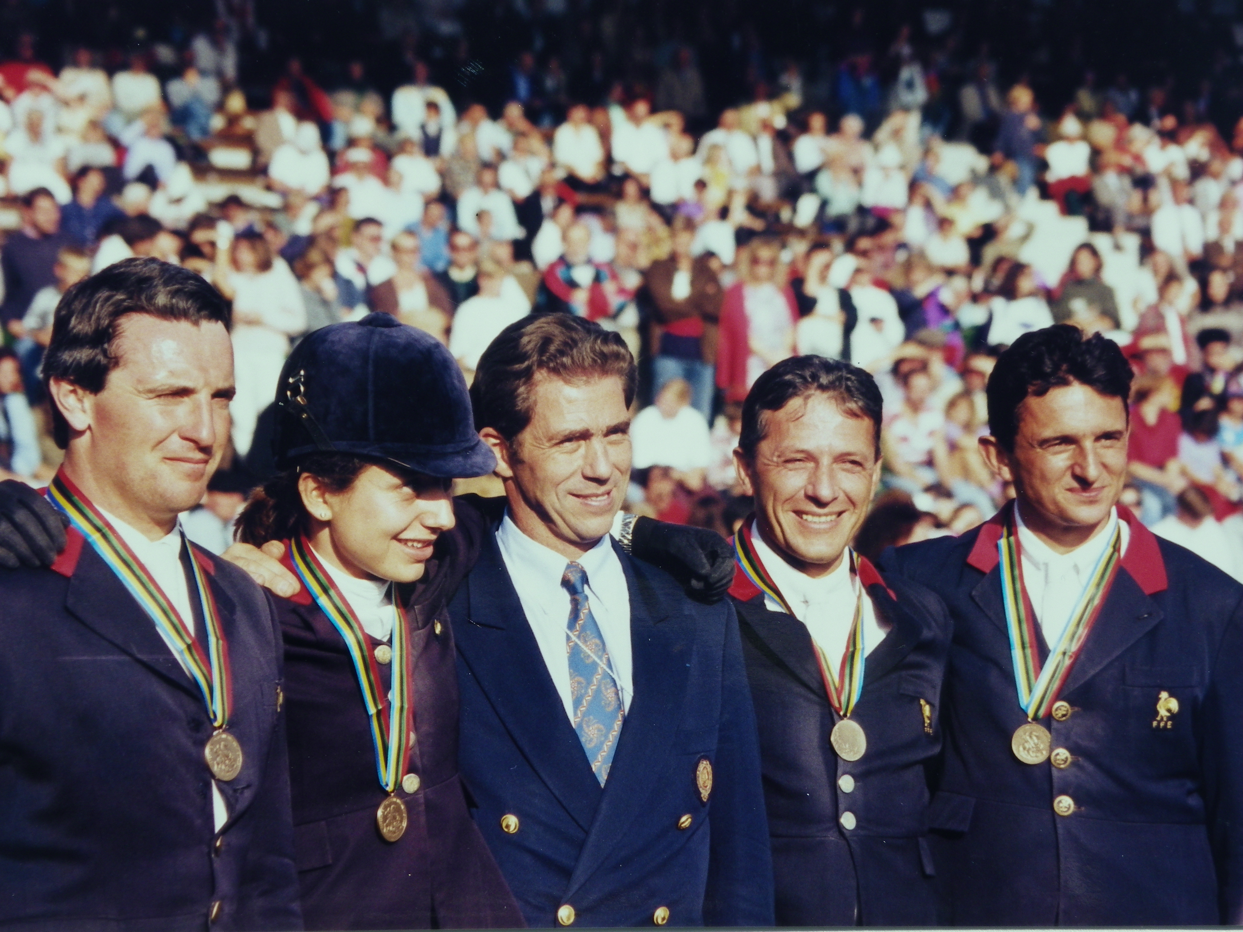 Championnats d'Europe de Saint-Gall en 1995.
