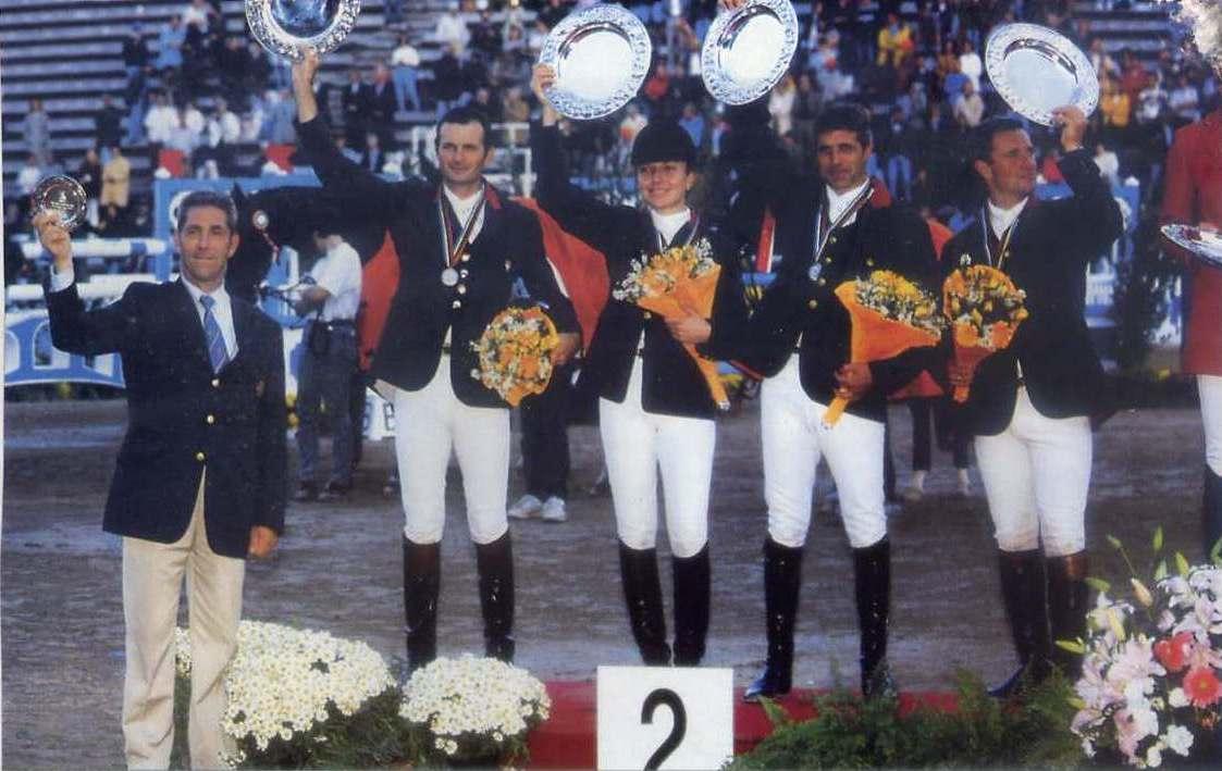 Jeux Équestres Mondiaux de Rome en 1998