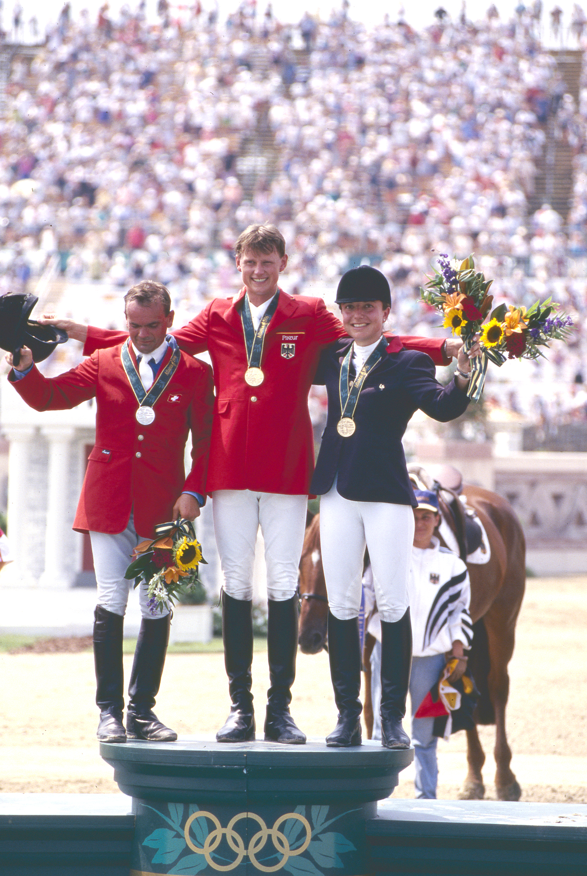 Jeux Olympiques d'Atlanta en 1996.