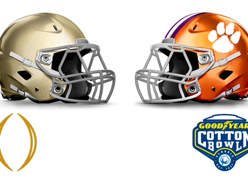Clemson To Face Notre Dame in College Football Playoff Semifinal at the Goodyear Cotton Bowl
