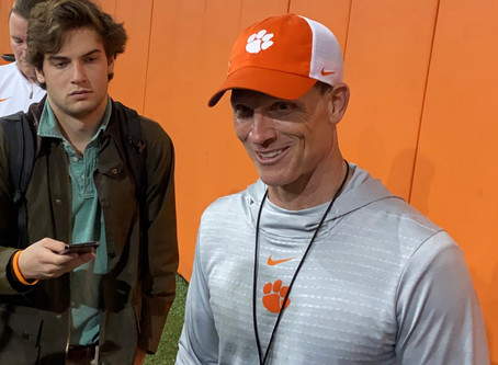 WATCH: Brent Venables after Spring Practice