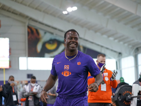 WATCH: Clemson Pro Day
