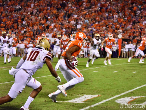 Three Clemson Players Earn ACC Weekly Honors