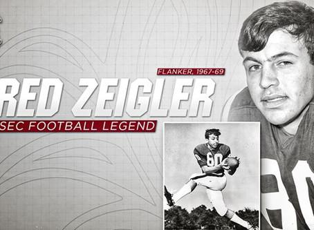 Fred Zeigler Named to 2019 SEC Legends Class