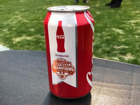 Coca-Cola® Debuts Commemorative Championship Can