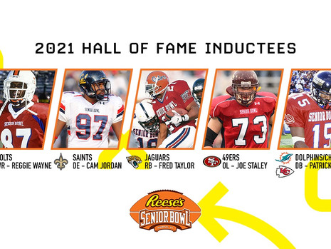 Senior Bowl Names Five New Members to Hall of Fame and Adds Senior Bowl Charities Golf Classic Event