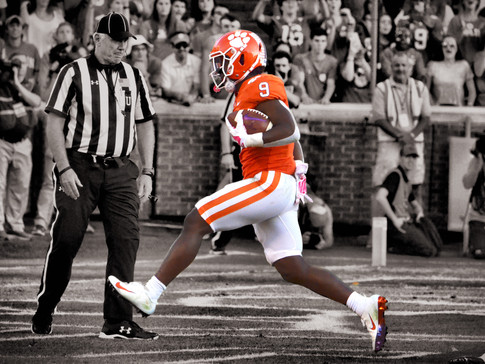 Clemson's Etienne Voted ACC Player of the Year
