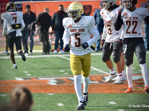 The Pride of Mobile; Notre Dame CB Increases Draft Stock at Senior Bowl