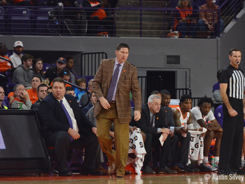 Clemson Named NABC Division I Team of the Week