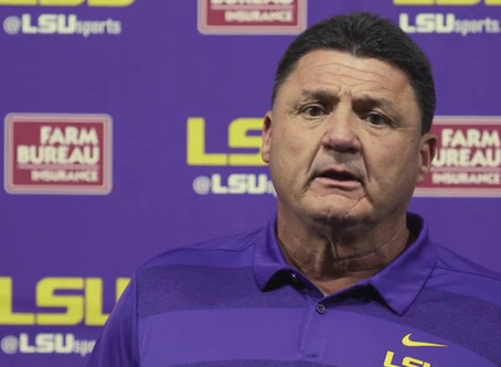 WATCH: Ed Orgeron Press Conference