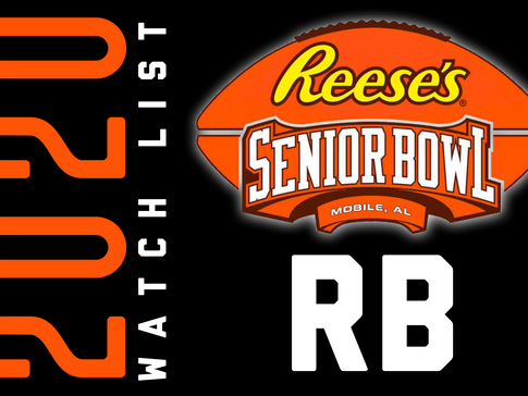 SENIOR BOWL 2020 WATCH LIST: Running Backs