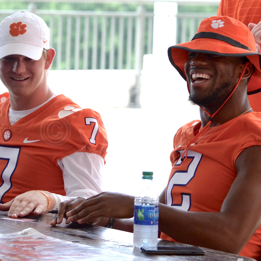 Kelly Bryant All Smiles