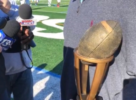 WATCH: Luke Doty on winning 2019 SC Mr. Football Award