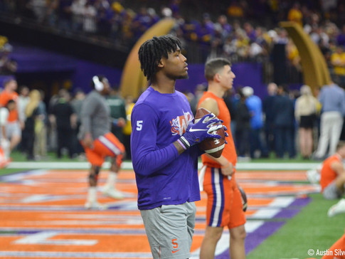 LIVE from Clemson Pro Day 2020