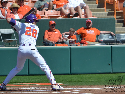 Clemson Wins 8-3 To Sweep BC