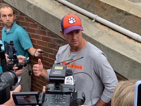 WATCH: Dabo Swinney after Ninth Spring Practice