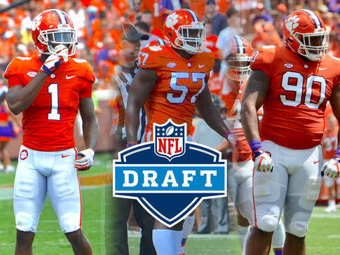 Three Tigers Declare for the NFL Draft on Wednesday