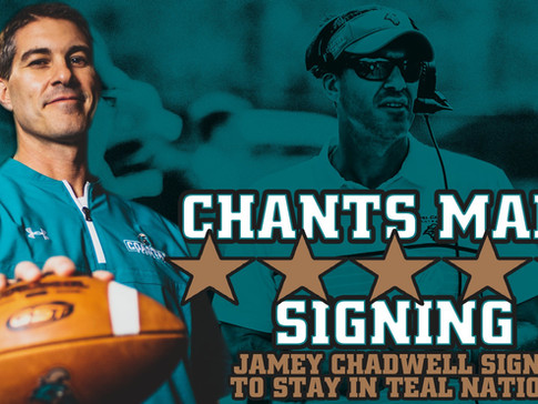 Coastal Carolina University Extends Jamey Chadwell Contract Through 2027