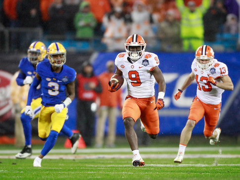 Clemson Pummels Pitt For Fourth Straight ACC Title