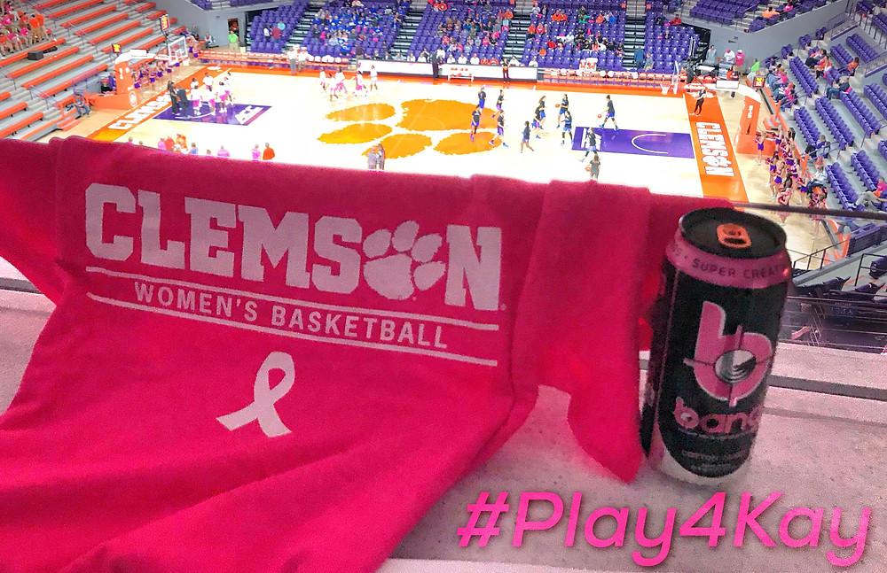#Play4Kay Clemson vs Duke 02.11.18 // Photo by Austin Silvey