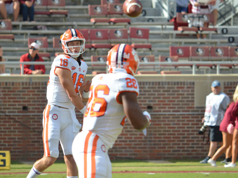 Passing Game Propels No. 2 Clemson Past Florida State
