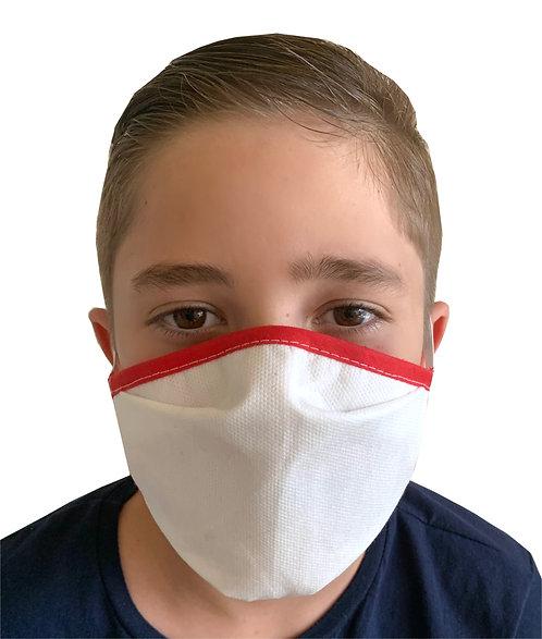 Mascarilla Higienica de Proteccion Reutilizable (10-12 anos)