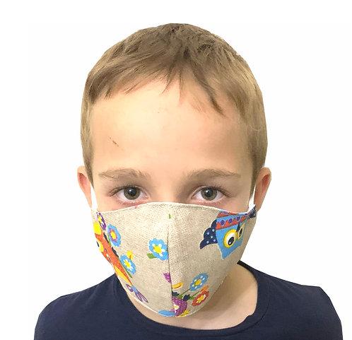 Mascarilla de Protección contra las bacterias para Niños