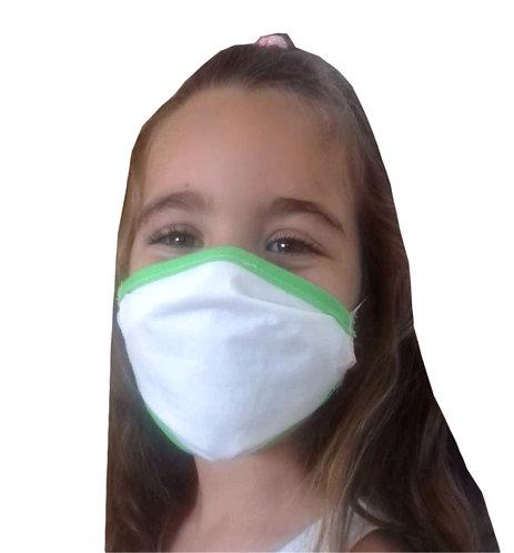 Mascarilla Higienica de Proteccion Reutilizable (3-5 anos)