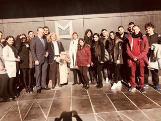 Επίσκεψη του NYC στο THE MET HOTEL Thessaloniki