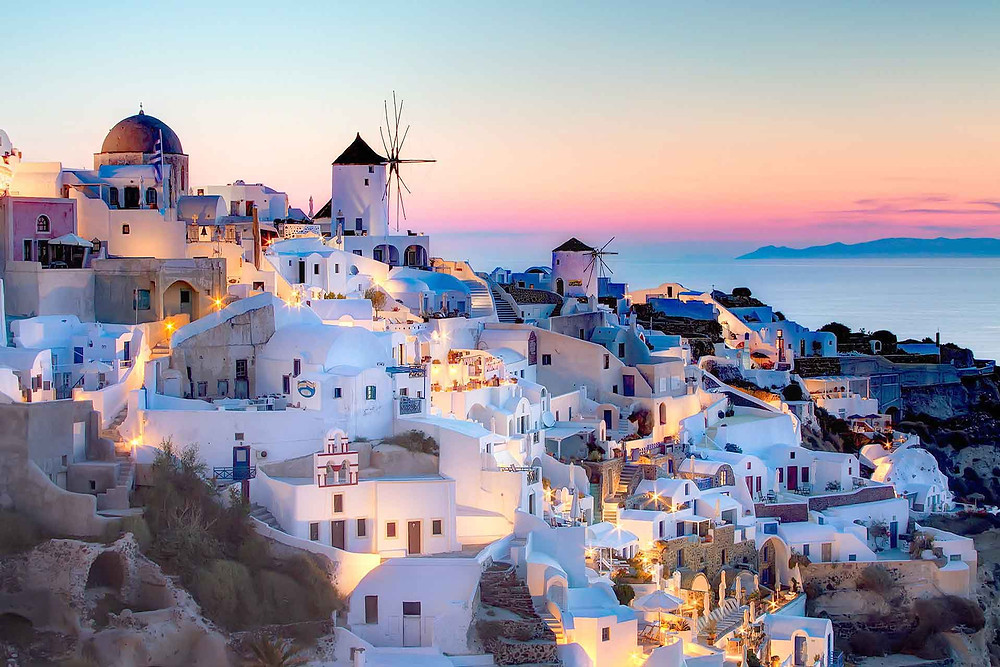 Santorini vibes with Helenika Travels retreats