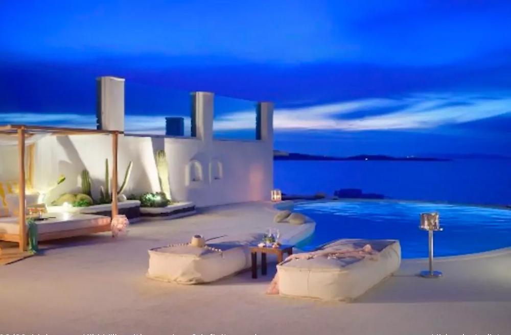gorgeous accommodation Mykonos detox retreat with Helenika Travels