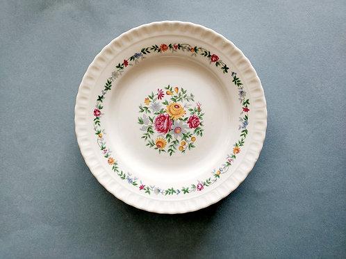 Assiettes fleuries (x 6) #4