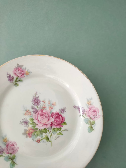 Assiettes fleuries (x 4) #3