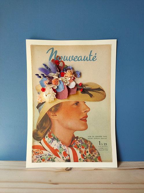 Affiche vintage Jeanette