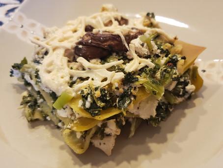 Tips For Making Healthy Vegan Lasagna (GF Option)