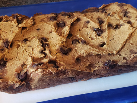 Gluten Free & Vegan Chocolate Chip Pumpkin Loaf