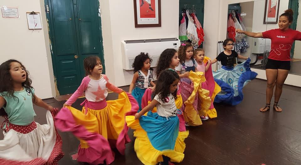 Baile de Bomba Infantil