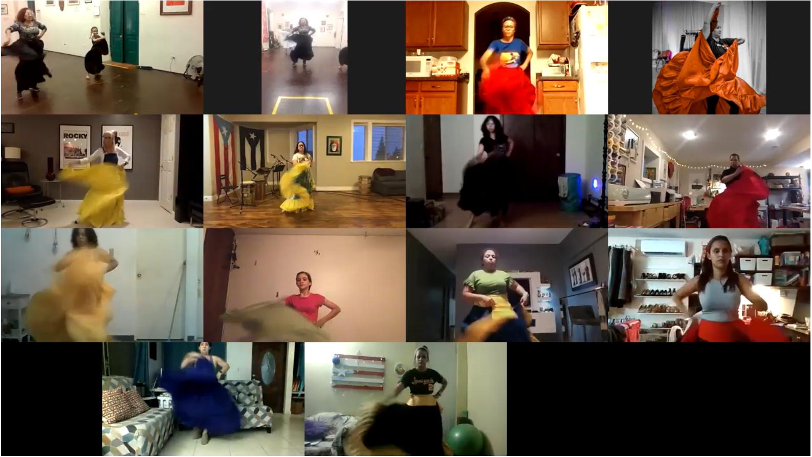 Clases Virtuales de Baile Básico 101