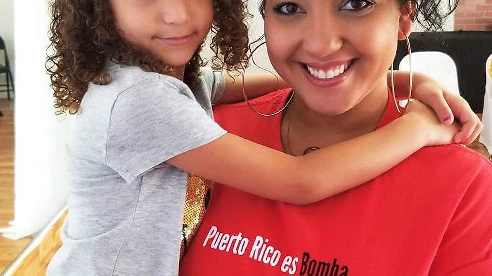 Puerto Rico es Bomba en la Florida Shirt