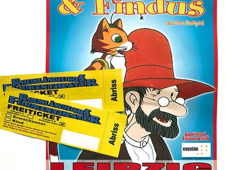 """Freikarten für """"Pettersson & Findus"""" gewinnen"""