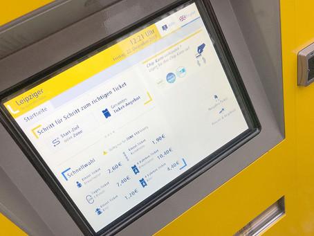"Neuer Fahrkartenautomat an Haltestelle ""Südstraße"""