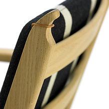Getama model GE284 stol detalje - tegnet af Hans J. Wegner