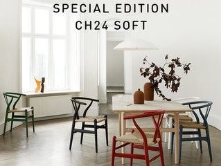 Kampagnepris på Hans J. Wegners Y-stol model CH24 Soft til 3895,- kr.