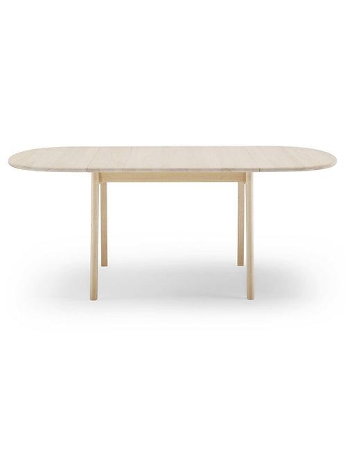 CH002 | spisebord eg sæbe med 2 klapplader | 90x90 (180) cm.