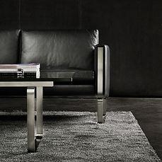 Smuk kombination med sofabord og sofa