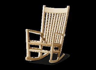 J16 gyngestolen tegnet af Hans J. Wegner