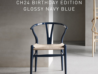 HANS J. WEGNER BIRTHDAY EDITION - CH24 I GLOSSY NAVY BLUE