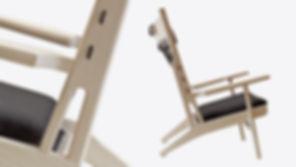 PP-Møbler model PP129 Netstolen - tegnet af Hans J. Wegner
